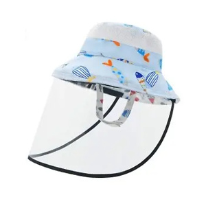 Baby Girls Boys Sun Hat with Bow UPF50+ Wide Brim Summer Bucket Sunscreen Caps for Babies Toddler