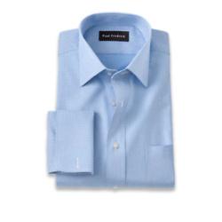 Pure Cotton Dot Pattern Dress Shirt
