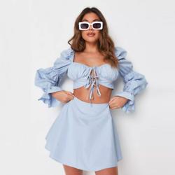 绸缎质感半身裙