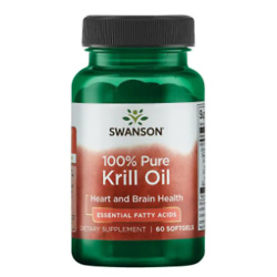 纯磷虾油 (60 粒)