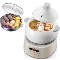Bear Multi-function Electric Steam Cooker, Yunnan Steam Chicken Soup Steamer Ceramics