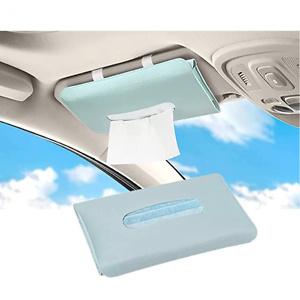 Car Tissue Holder, Sun Visor Napkin Holder, Car Tissues Box