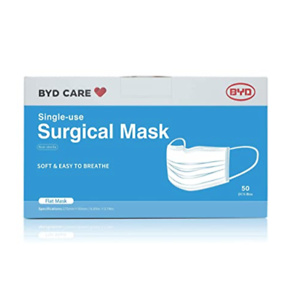 BYD CARE Single Use Disposable 3-Ply Surgical Mask