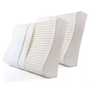 YANXUAN Contour Pillow for Sleeping, Thailand Natural Latex Pillow for Neck Pain Relief