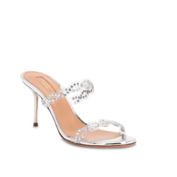 AQUAZZURA 优雅铆钉元素凉鞋