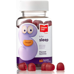 Chapter One Melatonin Gummies, Sleep Aid Gummy Supplement, Certified Kosher, (60 Flavored Gummies)