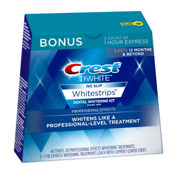 Crest 3D White Professional Effects Whitestrips 20 Treatments + Crest 3D