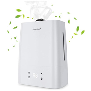 Aroma Room Air Humidifiers for Bedroom, 5.5L Cool Mist Humidifier with Aromatherapy Essential Oil Tray