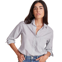 THE HERO BUTTON-UP WASHED COTTON