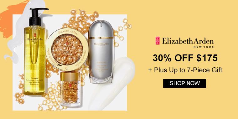 Elizabeth Arden: 30% OFF $175+, Up to 7-piece Gift