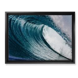 海浪艺术画
