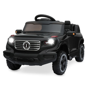 6V Kids Ride-On Car Truck Toy w/ RC Parent Control, 3 Speeds