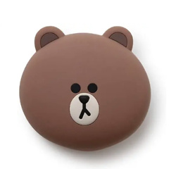 Line Friends Character Cute Small Silicone Coin Purse Card Wallet Pouch