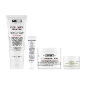 KIEHL'S Ultra Facial Cleanser Set-$156 Value