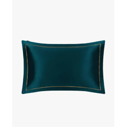 19 Momme Envelope Silk Pillowcase With Gold Piping