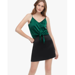 Tied Knot Silk Camisole