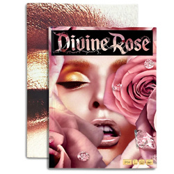 DIVINE ROSE POSTER AND NOTEBOOK