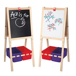 Cra-Z-Art 3-in-1 Smartest Artist Standing Easel-Chalk Board