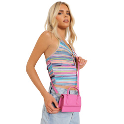 粉色迷你包包