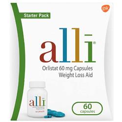alli Diet Weight Loss Supplement Pills