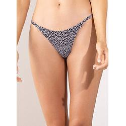 Maaji Cheetah Micro Mini Single Strap Bikini Bottom