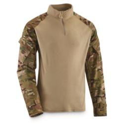 U.S. Military Surplus Fortiflame Layer 2 Long-sleeve Quarter-zip Shirt, New