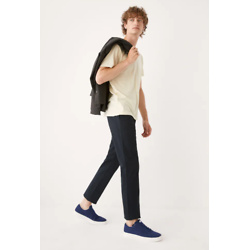 Brunswick深蓝色修身奇诺裤