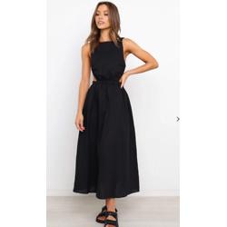 ESTHER DRESS - BLACK