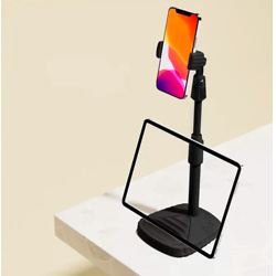 2-in-1 360° Rotatable Cell Phone Stand and Tablet Stand