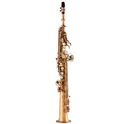 Allora ASPS-550 Paris Series Straight Soprano Sax Antique Matte Antique Matte Keys