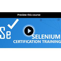 Selenium 认证培训课程