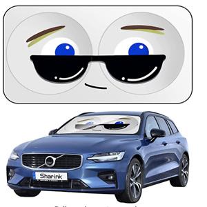 Sholer 超可爱大眼睛汽车挡风玻璃遮阳挡