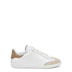 Bryce white leather sneakers