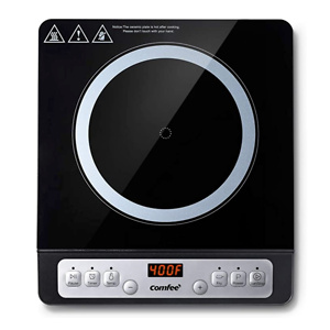 COMFEE' 1800W Digital Electric Portable Countertop Burner