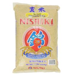 Nishiki 最高级优选糙米 15ba磅