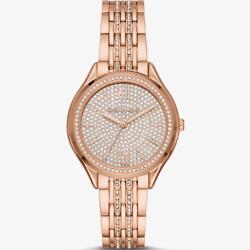 玫瑰金色手表