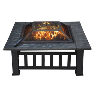 yaheetech: Fire Pit 32 Inch Only $85.14 + Free Shipping