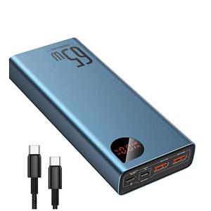Baseus 20000mAh USB-C 65W PD 移动电源