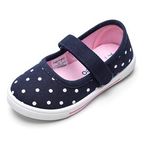 nerteo 儿童波点玛丽珍平底鞋