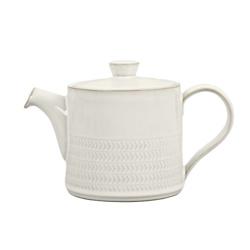 天然帆布纹理茶壶