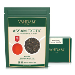Assam Exotic Second Flush Black Tea Leaves (3.53oz)