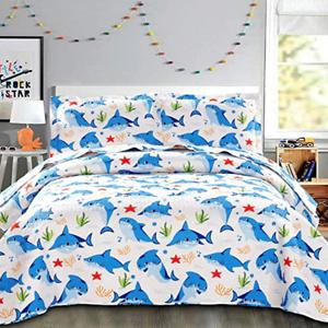 Kids Bedspread Set Twin Size