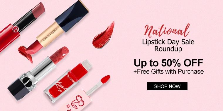 2021 National Lipstick Day Sale Roundup