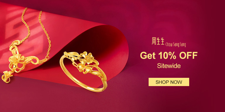 Chow Sang Sang: Get 10% OFF Sitewide