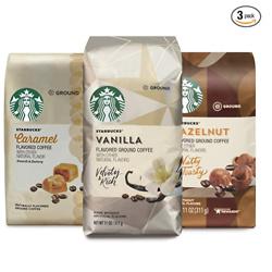 Starbucks Flavored Ground Coffee