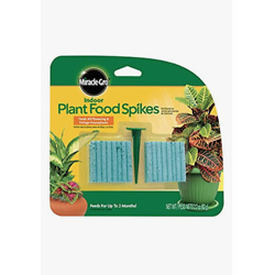 Miracle-Gro Indoor Plant Food Spikes, Includes 48 Spikes
