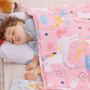 Amazon: Wemore Kids Weighted Blanket From $18.99