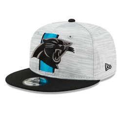 CAROLINA PANTHERS OFFICIAL NFL TRAINING 9FIFTY SNAPBACK