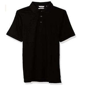 Calvin Klein 男士纯棉防晒Polo衫