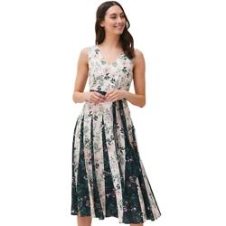 Bernita Floral Fit And Flare Dress